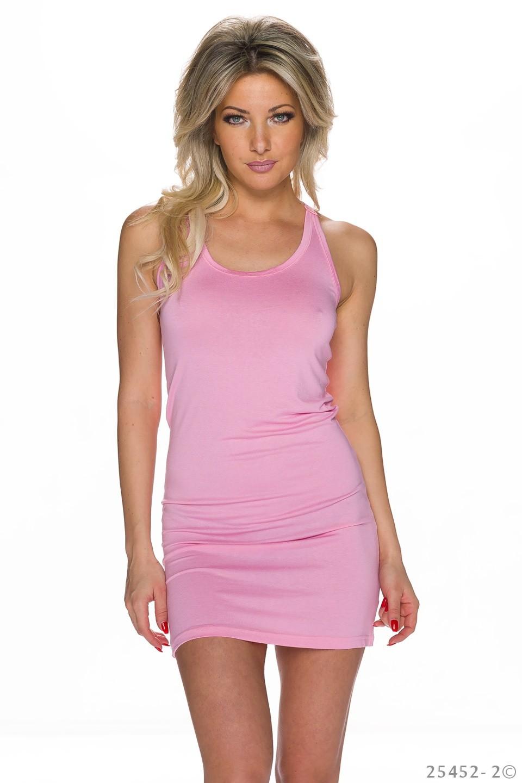 84d69d56922f Růžové dámské šaty